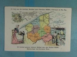 Amidon Remy Flandre Occidentale Westvlaanderen - Cartes Géographiques