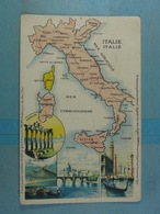 Amidon Remy Italie - Cartes Géographiques