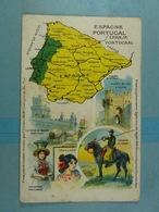 Amidon Remy Espagne Portugal - Cartes Géographiques