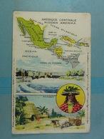 Amidon Remy Amérique Centrale - Cartes Géographiques