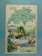 Amidon Remy Suisse Zwitserland - Cartes Géographiques