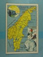 Amidon Remy Schwededen Und Norwegen - Cartes Géographiques