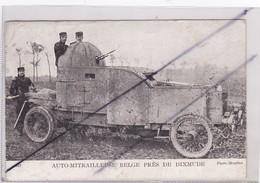 Auto-Mitrailleuse Belge Prés De Dixmude ( Guerre De 1914) - Equipment