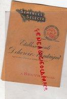 59- BEUVRY- RARE CATALOGUE SEMENCES SELECTA- ETS. DELECROIX MONTAIGNE-AGRICULTEUR CHEVALIER MERIRE AGRICOLE-1925 - Agriculture