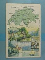 Amidon Remy Schweiz - Cartes Géographiques