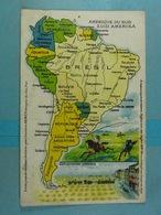 Amidon Remy Amérique Du Sud - Cartes Géographiques