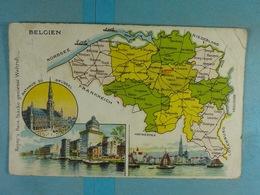 Amidon Remy Belgien - Cartes Géographiques