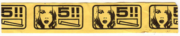 WARNING PAPER 5 Left UNKNOWN BRAND (OCB?) ROLLING PAPERS KING SIZE SLIM - Sigarette - Accessori