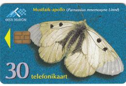 Estonia Phonecard - Clouded Apollo -  Superb Used - Estonia
