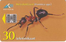 Estonia Phonecard - Ants (Formica) -  Superb Used - Estonia