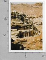 CARTOLINA NV DE AGOSTINI - GIORDANIA - Petra - Tombe - Vedute Dal Mondo - 10 X 15 - Giordania