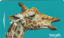 New Zealand Phonecard - Giraffe -  Superb Used - New Zealand