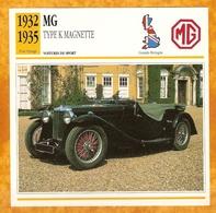 1932 MG TYPE K MAGNETTE - OLD CAR - VECCHIA AUTOMOBILE -  VIEJO COCHE - ALTES AUTO - CARRO VELHO - Autos
