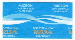 NEW RIZLA MICRON WARNING PAPER Discover A New Experience10 Left - Non Classificati