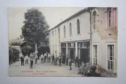 55 :  Saint Mihiel - Foyer Et Légion St Michel - Cour Et Façade - France