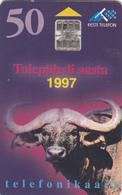 Estonia Phonecard - Buffalo -  Superb Used - Estonia
