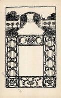 Wiener Werkstätte Nr. 12 Lebisch, Franz Künstler-Karte I-II - Künstlerkarten