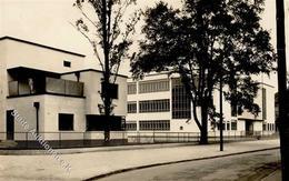 Bauhaus Dessau (o-3541) Meisterhäuser Foto-Karte I-II - Künstlerkarten