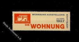 Bauhaus Deutscher Werkbund Stuttgart (7000) Ausstellung Die Wohnung Vignette I-II Expo - Künstlerkarten