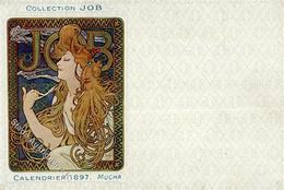 Mucha, Alfons Collection JOB Calendrier 1897 I-II - Mucha, Alphonse