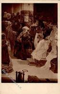 Mucha, Alfons Slovanska Epopeje Künstler-Karte I-II (RS Abschürfung) - Mucha, Alphonse