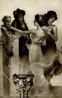Kirchner, R. Die Grazien Künstlerkarte I-II - Kirchner, Raphael