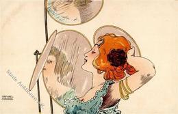 Kirchner, R. Frau  Künstlerkarte I-II - Kirchner, Raphael