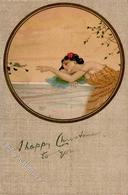 Kirchner, R. Frau Schnecke  Künstlerkarte 1905 I-II - Kirchner, Raphael