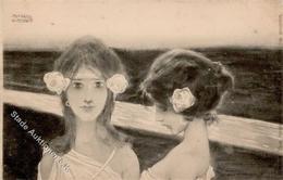 Kirchner, R. Jugendstil Verlag TSN 14 Künstlerkarte I-II Art Nouveau - Kirchner, Raphael