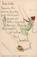 Kirchner, R. Jugendstil Verlag TSN 5311 Künstlerkarte I-II (Eckbug) Art Nouveau - Kirchner, Raphael