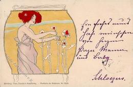 Kirchner, R. Jugendstil Verlag TSN 5526 Künstlerkarte 1898 I-II Art Nouveau - Kirchner, Raphael