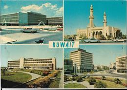 Kuwait - 1.Municipality Buildings - 2.Slamlan Mosque - 3.Sabah Hospital - 4.Fahad Salem Street - Kuwait