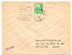 SEINE Et OISE - Dépt N° 78 =  SARCELLES 1950 = FLAMME DAGUIN '  EXPOSITION / AGRICOLE / SEPTEMBRE ' - Annullamenti Meccaniche (Varie)