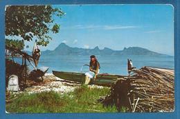 POLYNESIE FRANCAISE TAHITI MOOREA 1963 - Polynésie Française