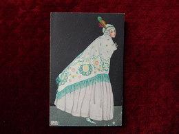 MELA KOEHLER ILLUSTRATEUR SIGNEE ART DECO - UNUSED - B.K.W.I. 384-6  - R14856 - Koehler, Mela