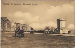 Napoli - Via Partenope - Monumento A Bissa - Napoli