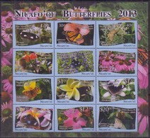 Tonga Niuafo'ou 2013 Yvertn° 380-391 *** MNH Cote 95 Euro Faune Papillons Vlinders Butterflies - Tonga (1970-...)