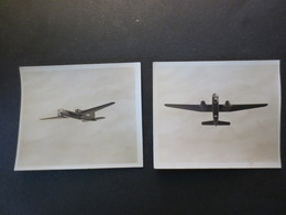 Photos D'identification - 2eme Guerre Mondiale - He 177 - Heinkel -  Bombardier Lourd Allemand   - B.E - - Aviation