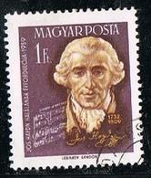 Hongrie Magyar Post Joseph Haydn 1959 Yvert N°HU 1310 - 1 Ft OB - Hongarije