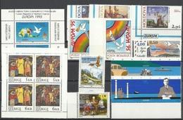 1995 EUROPA CEPT EUROPE 50 Paesi (92 Val.) 50 Countries MNH** Annata Exc. Andorra Franc., Bosnia Croata, Malta E Russia - Europa-CEPT