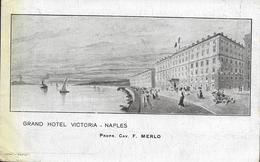Grand Hôtel Victoria - Naples - Napoli (Napels)