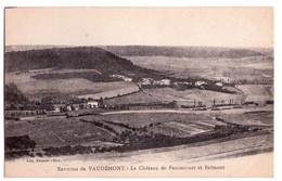 1325 - Environs De Vaudémont ( 54 ) - Le Chateau De Fanoncourt Et Eulmont - édit. Delarue-Sion - - Autres Communes
