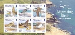 Alderney 2005, 259/64 Block 16, Migrating Birds  4. MNH ** - Alderney