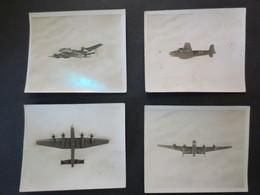 Photos D'identification - 2eme Guerre Mondiale - Halifax - Bombardier RAF - Quadrimoteur    - B.E - - Aviation