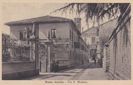 CARTOLINA - POSTCARD - VARESE - BUSTO ARSIZIO - VIA S. MICHELE - Varese