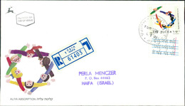 Israel FDC 1990, Integration Von Einwanderern, Aliya Absorption, Michel 1170 (3-14) - FDC