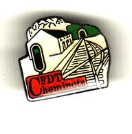 PIN'S CFDT CHEMINOTS - Verenigingen