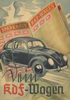 Buch WK II Mein KdF Wagen VW 32 Seiten Sehr Viele Abbildungen II (repariert) - Weltkrieg 1939-45