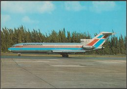 Dominicana Boeing 727-2J1 - Michel Moskal Postcard - 1946-....: Modern Era