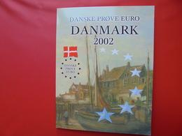 DANMARK SERIE FDC EN PROBA-EPREUVES - EURO